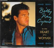 BILLY RAY CYRUS - In the heart of a woman CD-MAXI 3TR Europe release 1993