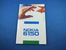 Original Nokia 6150 Instruction Manual Book Italian Manual Mobile Phone