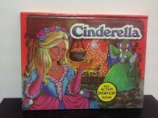Vintage Brown Watson CINDERELLA pop-up Book