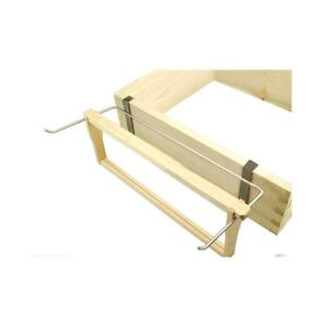 bee hive frame holder stainless steel perch