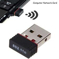 150M USB WiFi antenne sans fil PC adaptateur WiFi ordinateur réseau adaptateur