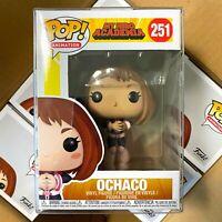 "Funko Pop My Hero Academia : OCHACO #251 Vinyl w/0.5mm Case ""Mint Box"""