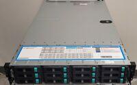"""Lenovo ThinkServer RD452X 12x3.5"""" bays server dual E5 2620 V3 storage FreeNas"""