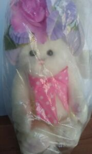 The Bearington Collection Bailee Blossom Easter Bunny Rabbit Unopened Package