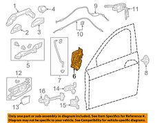 HONDA OEM Front Door-Lock Actuator Motor 72110T0AA12
