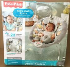 Fisher-Price Sweet Snugapuppy Dreams Deluxe Bouncer DTH04