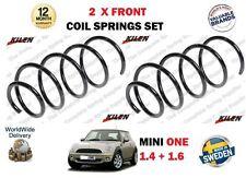 Per BMW Mini R56 Uno 1.4 1.6 2006> Nuovo 2 x Anteriori SX + Dx Bobina Molle Set