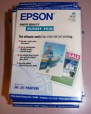 Epson Glossy Film DIN A6 105x148mm 10 Sheet s041107 NEW incl. Vat