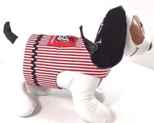 Dog Pet Clothes Harness SZ Sm 4.5 to 6 LBS Handmade NEW College Georgia Bulldogs