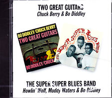 CHUCK BERRY & BO DIDDLEY two great guitars/super super blues band  CD NEU / NEW