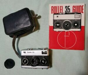 Rollei 35 Classic 35mm Rangefinder Film Camera With 40mm Zeiss Lens