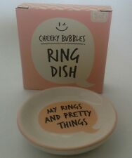 'My Rings & Things' Ceramic Jewellery/Ring Dish 75mm-Cool Gift