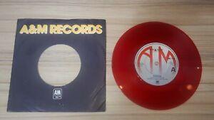 "Squeeze - Slap & Tickle RED VINYL Record 7"" Single Vinyl 1979 VG+/VG"