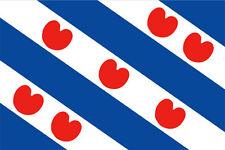 FRIESLAND FLAG 5' x 3' Frisian Frisia Fryslan Holland Netherlands Dutch Flags