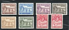 Turks and Caicos Islands 1938-46 values to 2s MNH