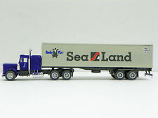 """Promotex/Herpa Ho R-T-R """"Sea Land"""" Tractor And Trailer"""