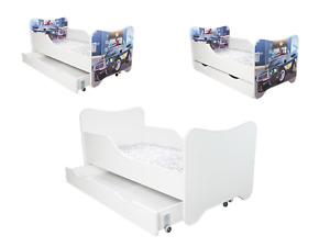 Babybett Kinderbett Jugendbett 160x80 + Matratze + Lattenrost + NEU +Designswahl