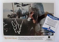 DAVID WENHAM Signed Lord Of The Rings Promo Photo BAS COA
