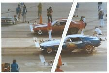 "Vintage NHRA Drag Racing-Harry Schmidt's ""Blue Max"" vs Big John Mazmanian's CUDA"