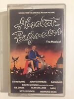 Absolute Beginners Musical - Songs from Original Motion Picture Cassette Tape