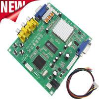 For Gonbes GBS8200 CGA/EGA/YUV/RGB To VGA Arcade Game Video Converter Latest HOT