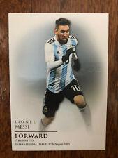 2018 Futera Unique Football Soccer Card Argentina LIONEL MESSI Mint
