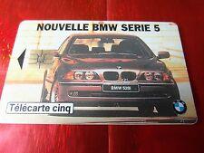 "RARE TELECARTE 5 UNITES "" GN 202 "" TTBE - BMW SERIE 5"
