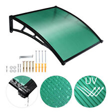 Waterproof Patio Window Front Door Awnings Canopy Cover Snow Rain Protector