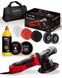 BURISCH HDR2500 DA Polisher + Farecla G360 Super Fast Compound Kit + bag + pads