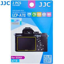 JJC LCP-A7II LCD Film Screen Display Protector for SONY A7II Mark II Camera