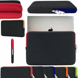 "Zipper Soft Bag Sleeve Neoprene Case Pouch For ACER 10"" 11.6"" 14"" Laptop Cover"