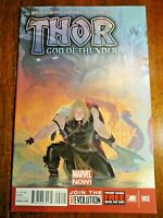 Thor God of Thunder #2 Hot Key NM- 1st Gorr Butcher Aaron Ribic Print A Marvel