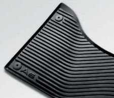 Audi A5 genuine rubber floor mat front pair only 2012 2013 2014 2015 2016 2017