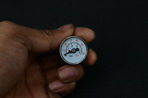 Axial pressure gauge For Steam