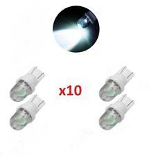 x10 Bombillas T10 LED 5050 SMD 168 194 W5W, Iluminacion Coche W5 Blanco Frio.