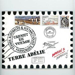 TAAF N° C308 CARNET DE VOYAGE TERRE ADÉLIE, EDITION PRESTIGE, 2001