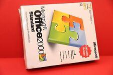 MICROSOFT OFFICE 2000 STANDARD Word Excel Outlook Genuine License German CD BOX