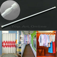 Adjustable Retractable Shower Curtain Rod Home Bathroom Tension Telescopic Poles