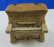 Pendelfin England Piano for Rabbit Bunny Hand Painted Stonecraft