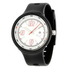 Puma Motorsport Black Resin Watch PU910691002 White Face Sport Accessory New