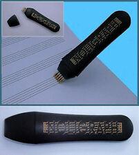 Noligraph: Notenlinienschreiber mit 5 Kugelschreiberminen auswechselbar