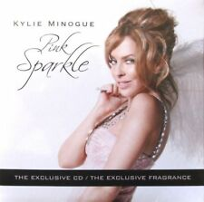 Kylie Minogue 2 CDs Flower & Pink Sparkle CD CARDSLEEVE Promo UK