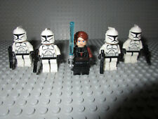 Lego Star Wars 5 Figuren: Anakin Skywalker + 4 Clone Trooper (alle aus 7675)