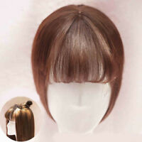 Neat Air Bangs/Fringe Clip in Topper Hairpiece Hair Extensions For Thin Hair