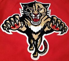 Nhl Florida Panthers Official Licensed Jersey by Reebok Men's Medium Preowned