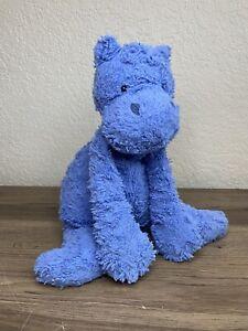 "Jellycat Javier Blue Hippo 15"" Charmed Plush Stuffed Animal Baby Safe Soft"