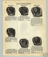 1952 PAPER AD Wilson 2 Finger Luke Appling Baseball Glove Peanuts Lowrey H Sauer