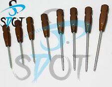 Bone Screwdriver screw drivers Hex Head 8 pcs Set orthopedics Instruments Sdot