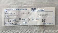 ILLINOIS Capacitor  MRS250K Film Capacitors ( Lots of 100 )