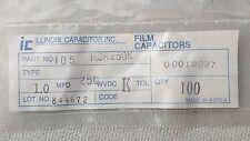 ILLINOIS Capacitor  MRS250K Film Capacitors ( Lots of 100 )
